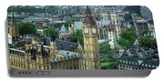 Big Ben From The London Eye Portable Battery Charger