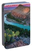 Big Bend Evening Portable Battery Charger