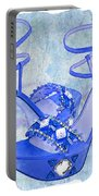 Big Blue Bling  Portable Battery Charger