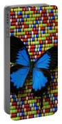 Big Blue Butterfly Portable Battery Charger
