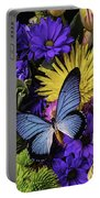 Big Blue Wings Portable Battery Charger