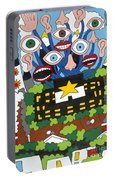 Big Brother Portable Battery Charger by Rojax Art
