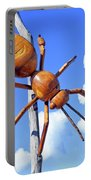 Big Bug Sculpture 1 Portable Battery Charger
