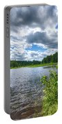 Big Clouds Blue Sky Portable Battery Charger
