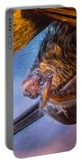 Big Eared Bat At Sunrise Portable Battery Charger