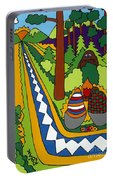 Big Foot Portable Battery Charger by Rojax Art