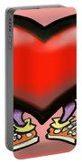 Big Heart Portable Battery Charger
