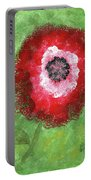 Big Red Flower Portable Battery Charger