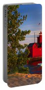 Big Red Lighthouse Portable Battery Charger