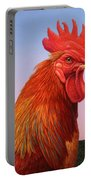 Big Red Rooster Portable Battery Charger