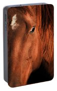 Big Red The Horse Portable Battery Charger