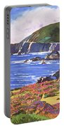 Big Sur Wildflowers - Plein Air Portable Battery Charger