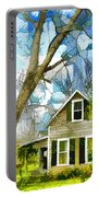 Big Tree Standing Tall In The Front Yard Portable Battery Charger