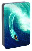 Big Wave North Shore Oahu #285 Portable Battery Charger