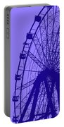Big Wheel Blue Portable Battery Charger