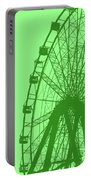 Big Wheel Green Portable Battery Charger