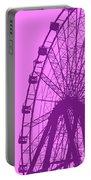 Big Wheel Purple Portable Battery Charger