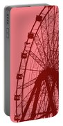 Big Wheel Red Portable Battery Charger