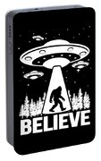 Bigfoot Alien Ufo Apparel Portable Battery Charger