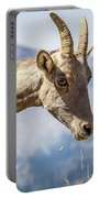 Bighorn In Yellowstone Portable Battery Charger