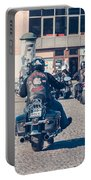 Bikers In Gdansk Portable Battery Charger