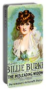 Billie Burke In The Misleading Widow 1919 Portable Battery Charger