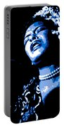 Billie Holiday Portable Battery Charger
