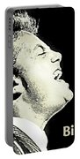 Billy Joel Poster Portable Battery Charger