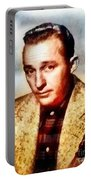 Bing Crosby, Hollywood Legend By John Springfield Portable Battery Charger