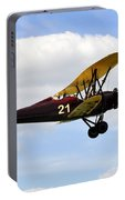 Biplane Portable Battery Charger