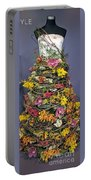 Birch And Orchid Twig Dress Exhibit Piece Portable Battery Charger