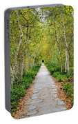 Birch Pathway Perspective Portable Battery Charger