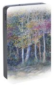 Birch Tree Gathering Portable Battery Charger
