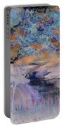 Birch Trees On The Ridge 2 Portable Battery Charger