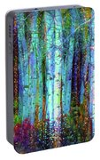 Birch Woods Portable Battery Charger