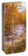 Birches On The Kancamagus Highway Portable Battery Charger