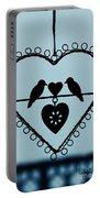 Bird Heart Portable Battery Charger