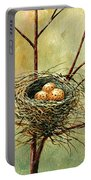 Bird Nest Portable Battery Charger