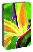 Bird Of Paradise #262 Portable Battery Charger