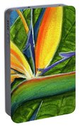 Bird Of Paradise #300b Portable Battery Charger