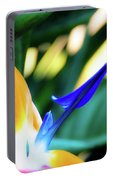Bird Of Paradise Flower Portable Battery Charger
