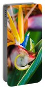 Bird Of Paradise Gecko Portable Battery Charger