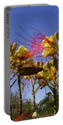 Bird Of Paradise Shrub Portable Battery Charger