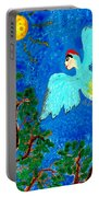 Bird People Green Woodpecker Portable Battery Charger