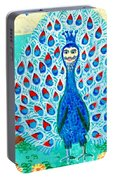 Bird People Peacock King And Peahen Portable Battery Charger