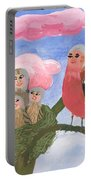 Bird People The Chaffinch Family Portable Battery Charger