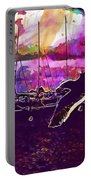Bird Seagull Ave Beach Wings Sky  Portable Battery Charger