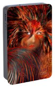 Bird Woman Portable Battery Charger