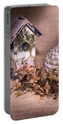 Birdhouse And Beehive 2 Portable Battery Charger
