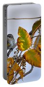 Birds And  Berries Portable Battery Charger